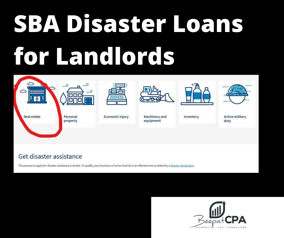SBA Disaster Loans for Landlords